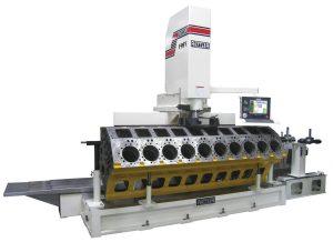 Dunimex - Rottler - Máquinas automáticas CNC/CAD CAM de rectificação de motores. F97Y, F98Y e F99Y – Máquina CNC de rectificar motores de ligeiros e pesados.