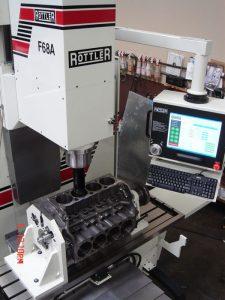 Dunimex - Rottler F69A – Máquina automática CNC para a rectificação de motores.