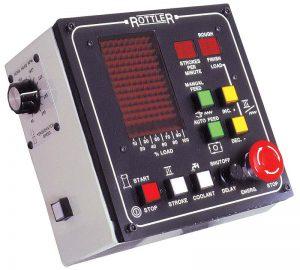 Dunimex - Rottler HP6A – Máquina automática de polir cilindros com roca diamantada.