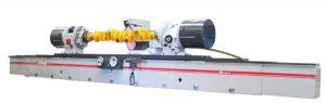 Dunimex - Máquinas de Rectificar Veios e Cambotas de Motores Industriais Máquinas de rectificar cambotas e veios até 4100mm entre pontos.