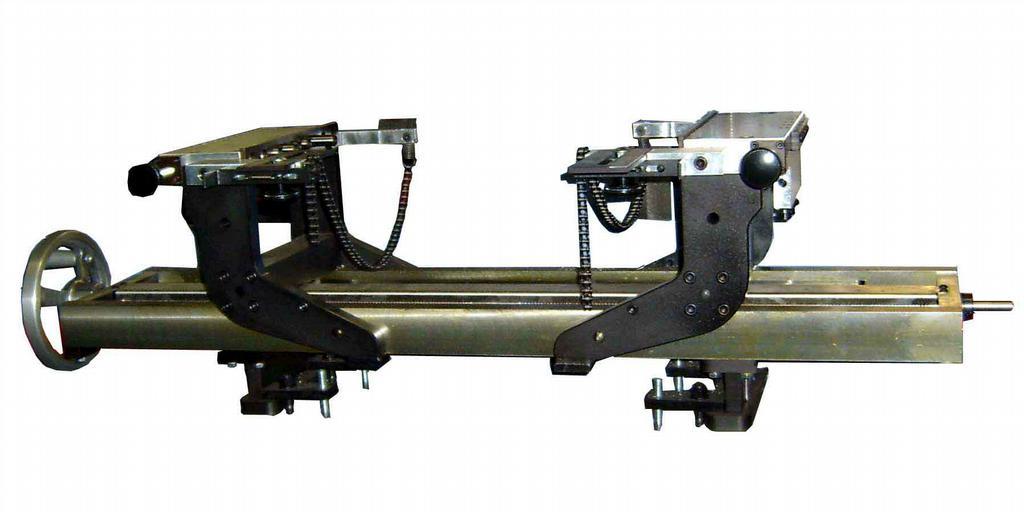 Dunimex - Sistemas de suporte e alinhamento de cabeças e blocos - DSF 1500