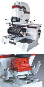 Dunimex - Máquinas convencionais com sistema semi-automático de rectificar cilindros e superfícies planas de motor. F8A e F7A – Máquina de rectificar cilindros e superfícies planas de motor