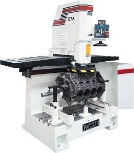 Dunimex - S8A e S7A – Máquina automática de rectificar superfícies planas de motor (cabeças e blocos)