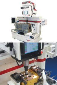 Dunimex - SG80A – Máquina automática de rectificação de sedes e guias de válvula