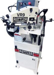 Dunimex - VR9 – Máquina de rectificar válvulas (Sistema de aperto Centerless pneumático)