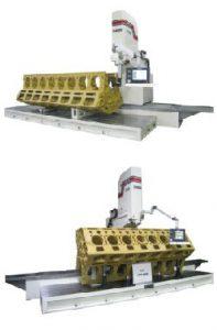 Dunimex - F109 - Máquina CNC para a rectificação de motores grandes dimensões.