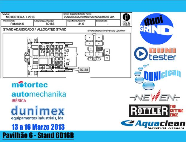 Dunimex - Dunimex na Motortec 2013