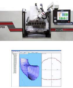 Dunimex - P69 - Máquina CNC de 5 Eixos para a Rectificação de Câmaras de Combustão.
