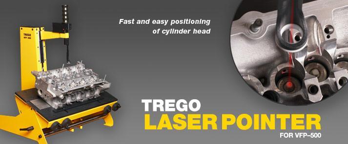 Dunimex - Laser para fácil guia da cabeça - Trego Maskin